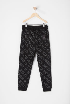 Zoo York Youth Reflective Logo Jogger