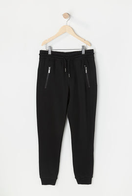 Zoo York Youth Solid Zip Jogger