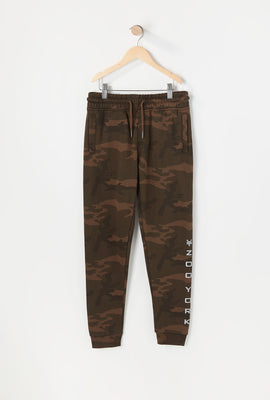 Zoo York Youth Camo Print Jogger