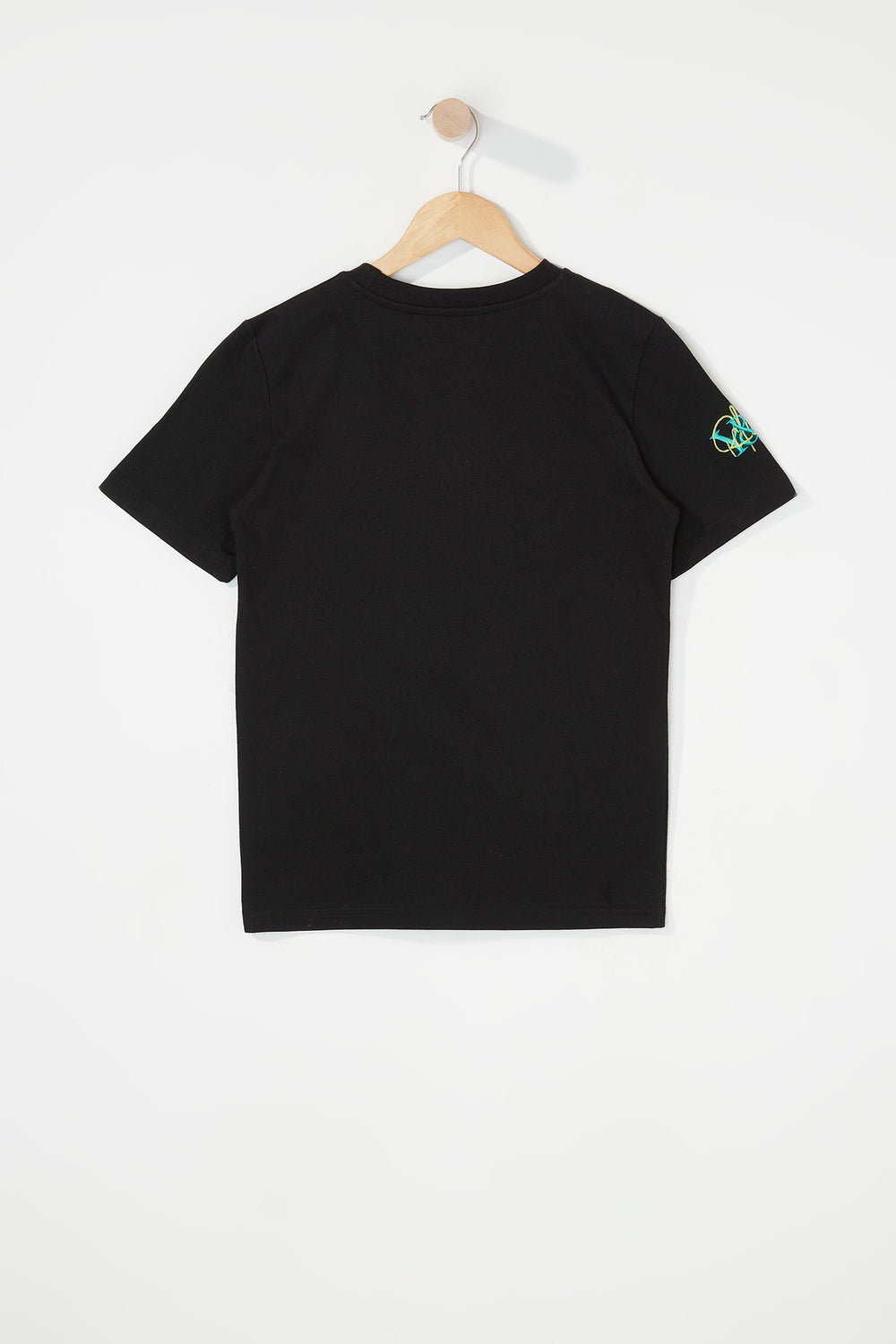 Young & Reckless Boys Embroidered Logo T-Shirt Black