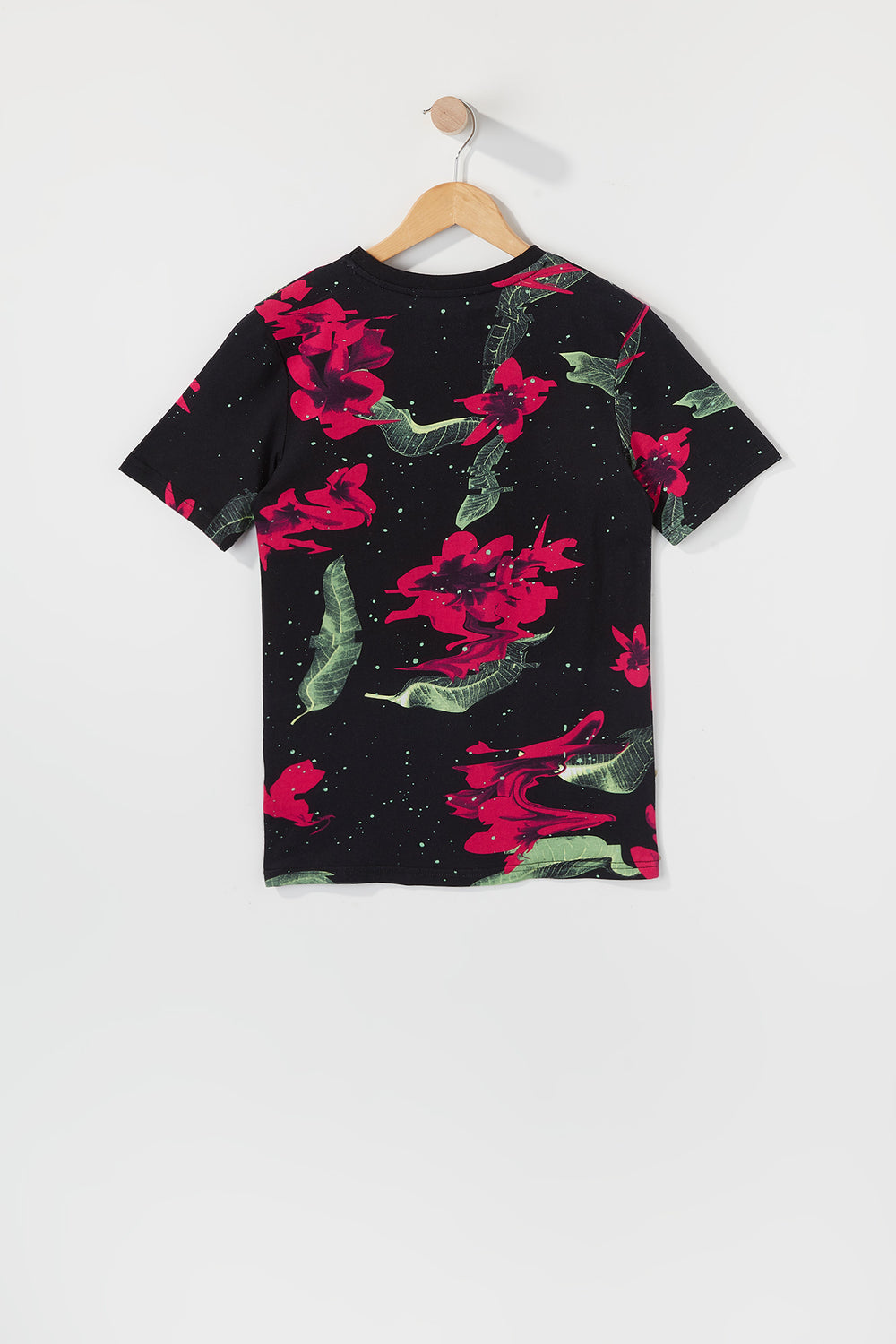 Young & Reckless Boys Electric Floral Graphic T-Shirt Black