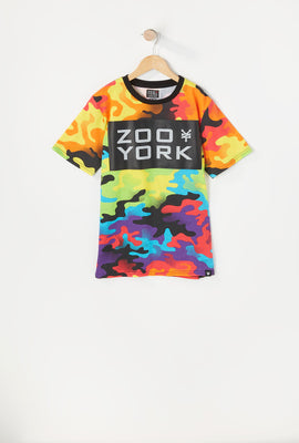Zoo York Youth Rainbow Camo T-Shirt
