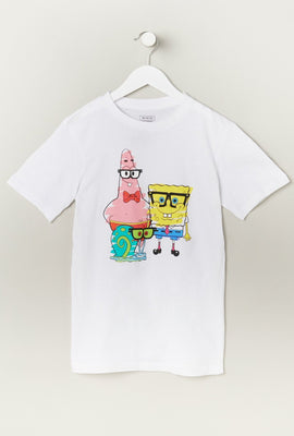 Youth SpongeBob Gary Patrick T-Shirt