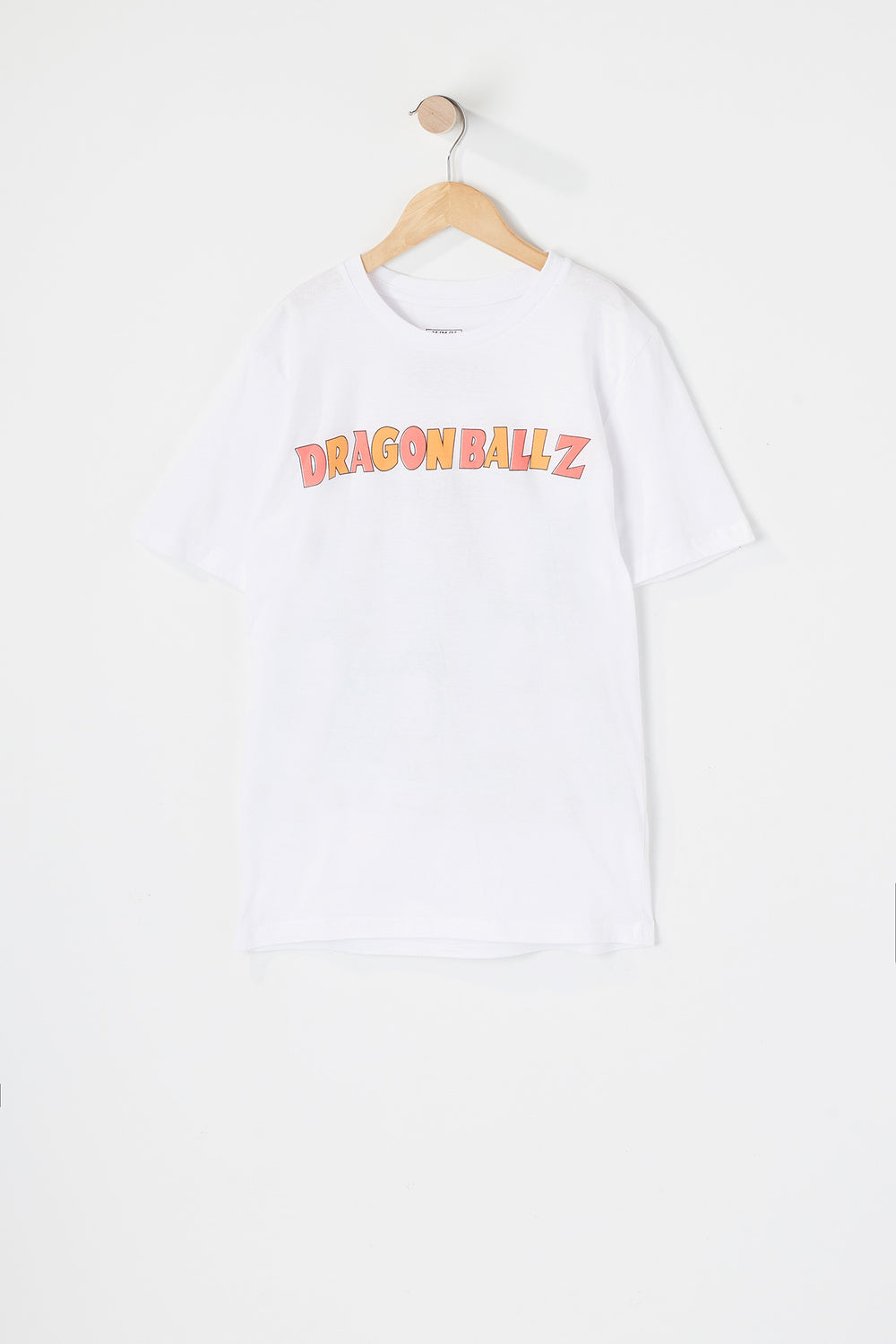 T-shirt Dragon Ball Z Junior Blanc