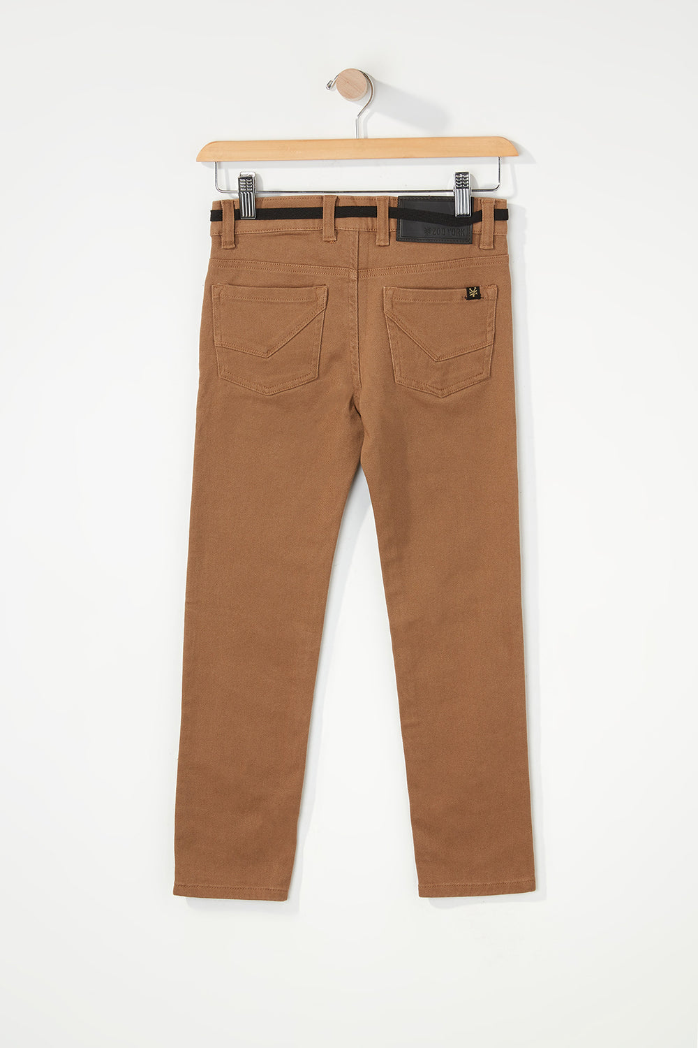 Zoo York Boys Stretch Skinny Jeans Camel