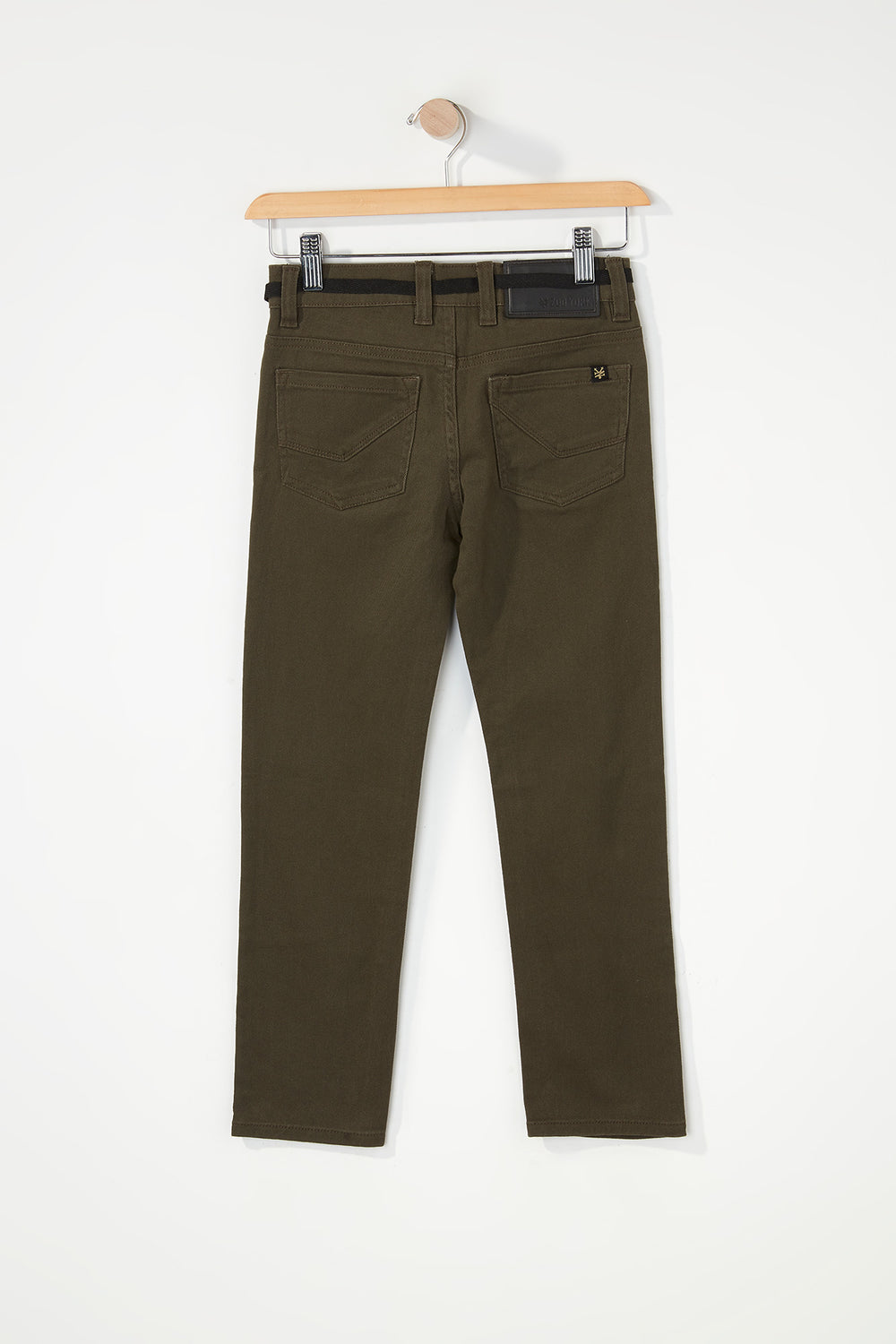 Zoo York Boys Stretch Skinny Jeans Khaki