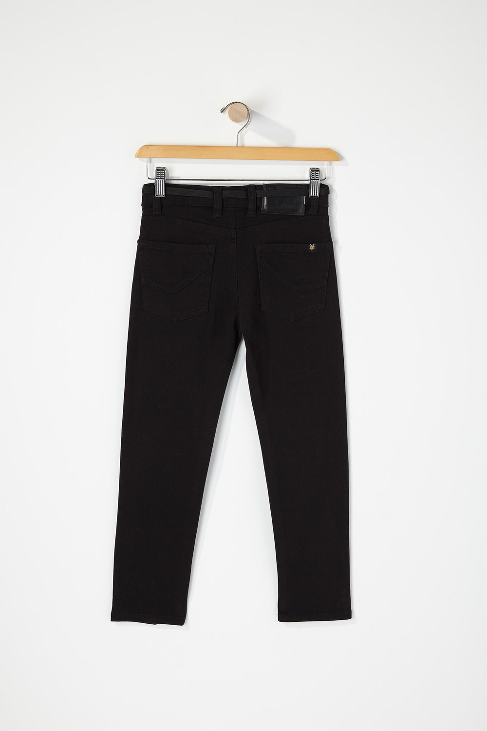 Zoo York Boys Stretch Skinny Jeans Black