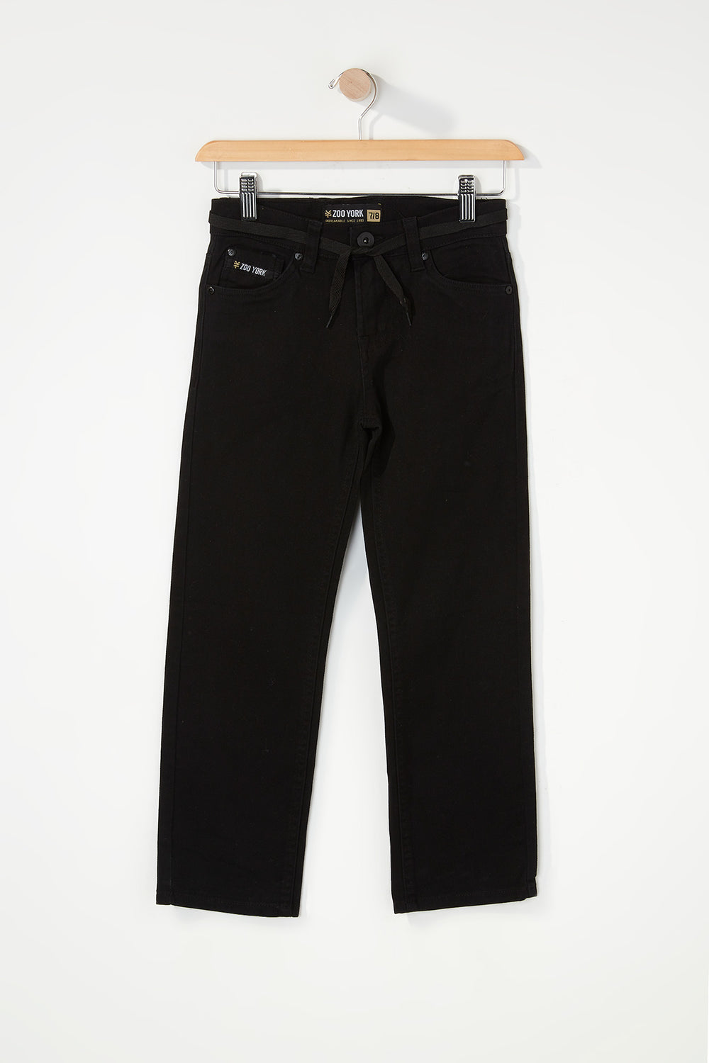 Zoo York Boys Stretch Slim Jeans Black