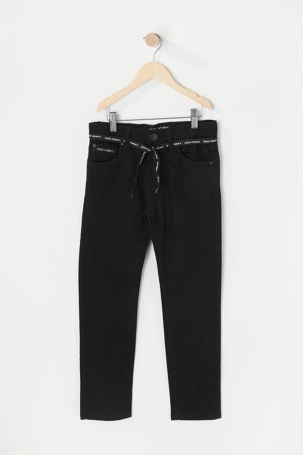 Zoo York Youth Skinny Jeans Black