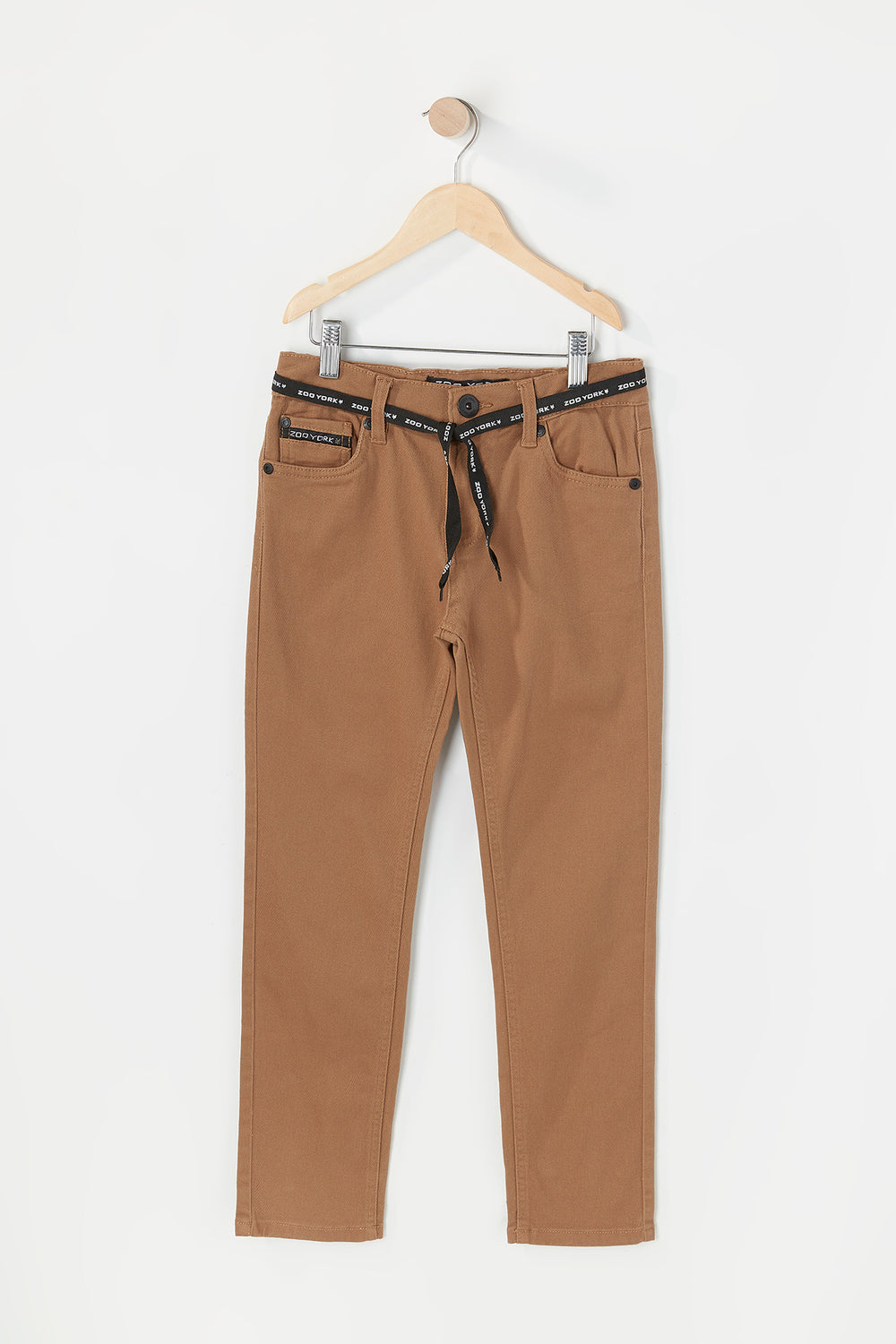 Zoo York Youth Skinny Jeans Camel