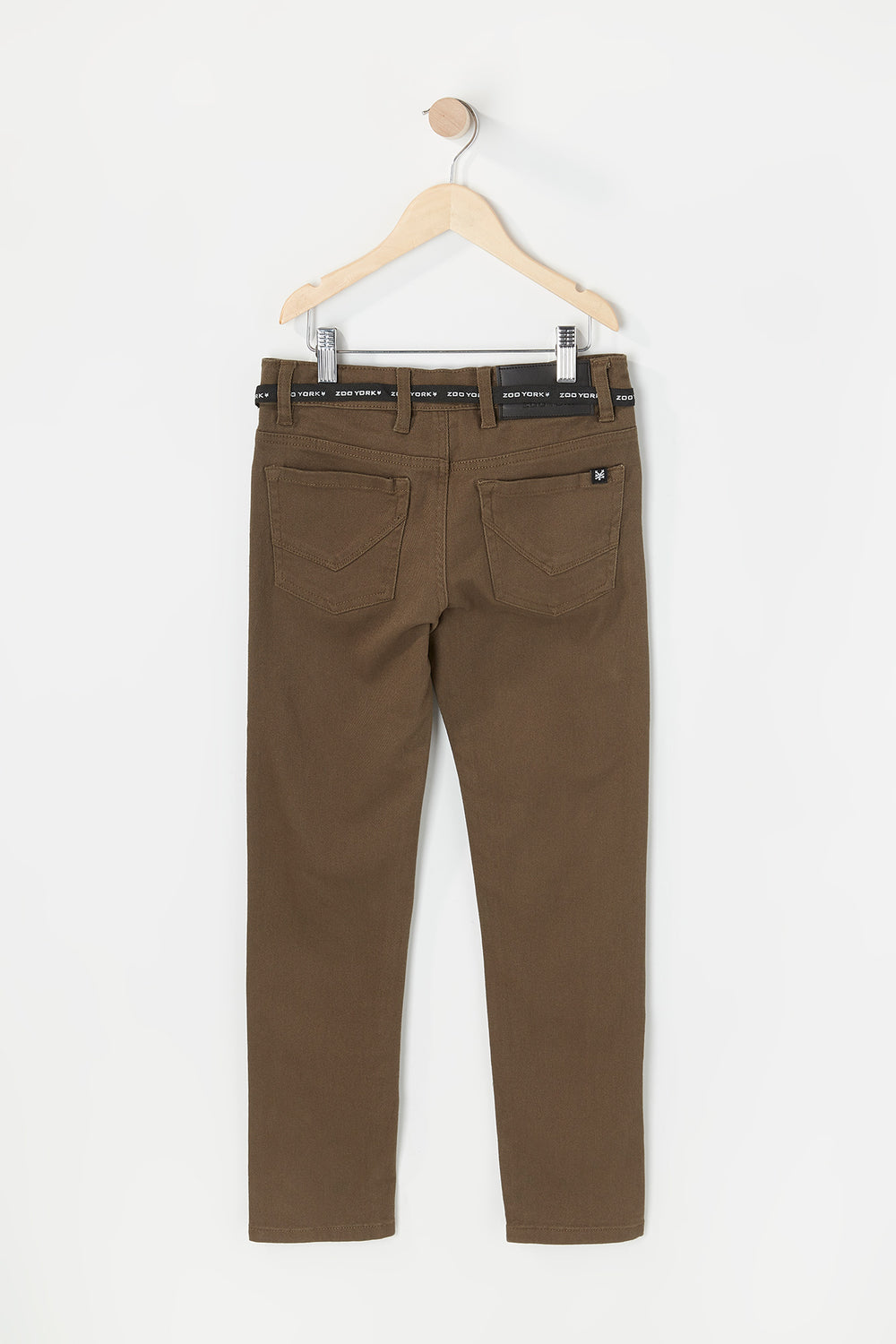 Zoo York Youth Skinny Jeans Khaki