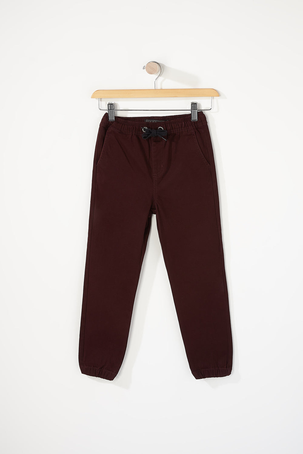 West49 Boys Basic Jogger Burgundy