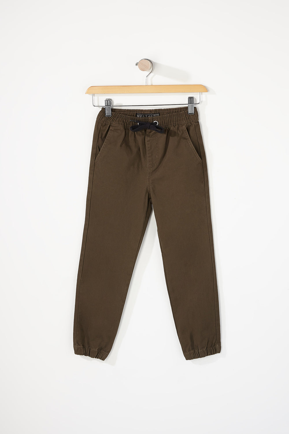 West49 Boys Basic Jogger Khaki