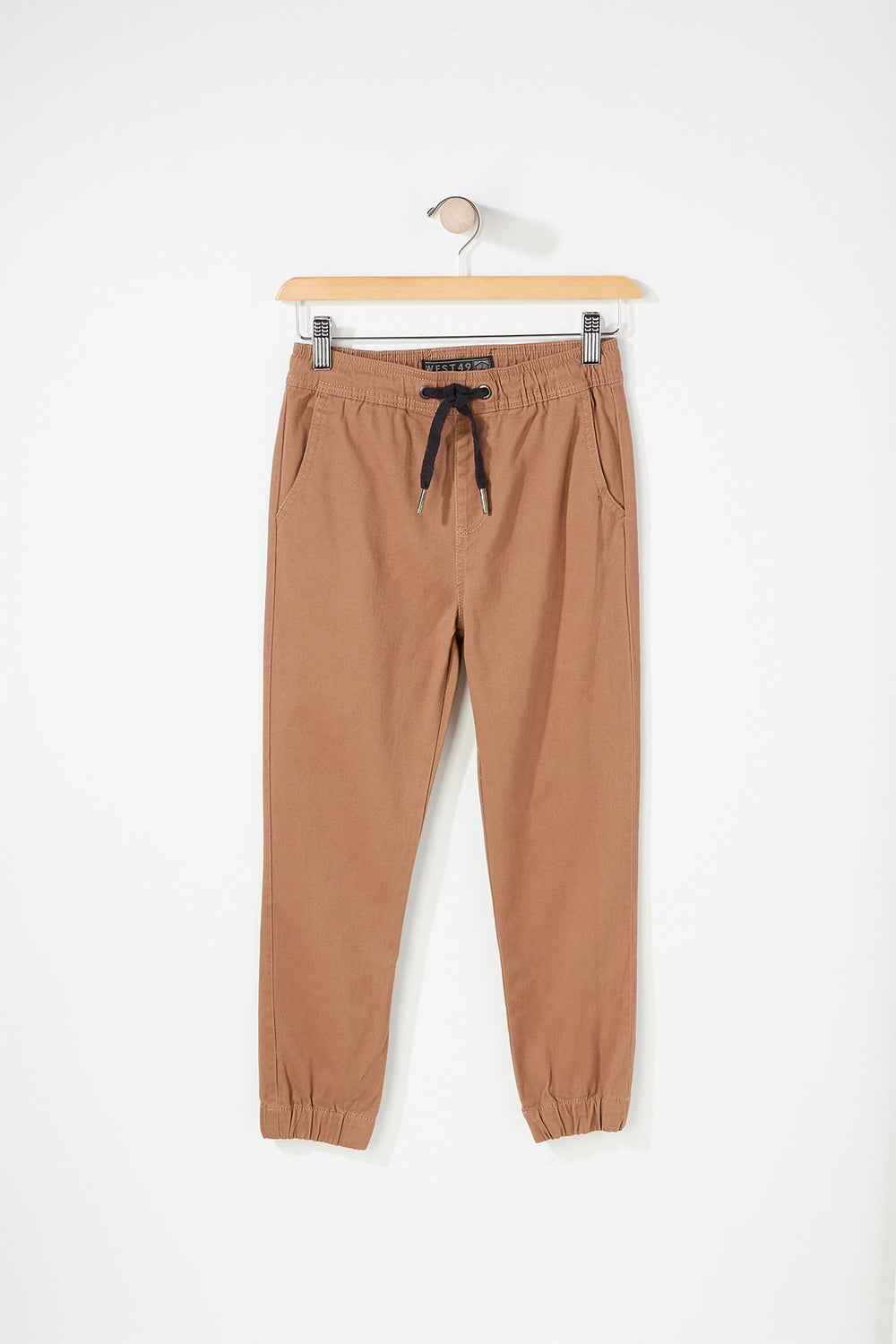 West49 Boys Basic Jogger Camel