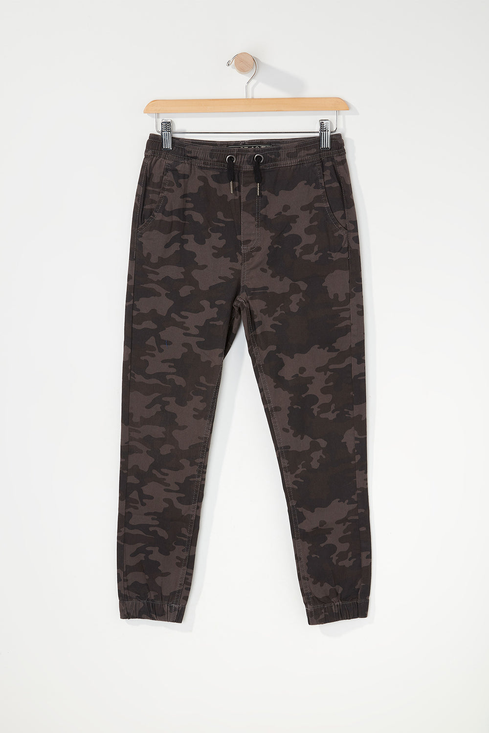 West49 Youth Twill Camo Jogger Gingham