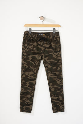 Zoo York Boys Camo Zip Jogger