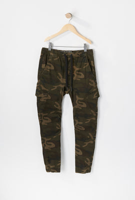 Jogger Camouflage Style Cargo West49 Junior