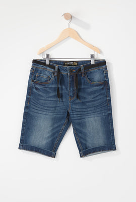 Zoo York Boys Stretch Slim Denim Short