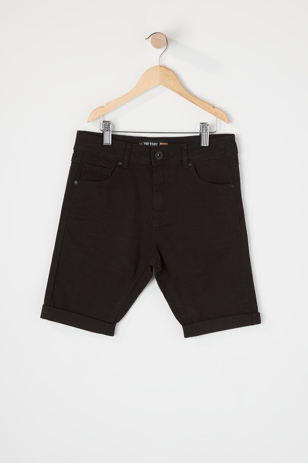 Zoo York Boys Solid Shorts Black
