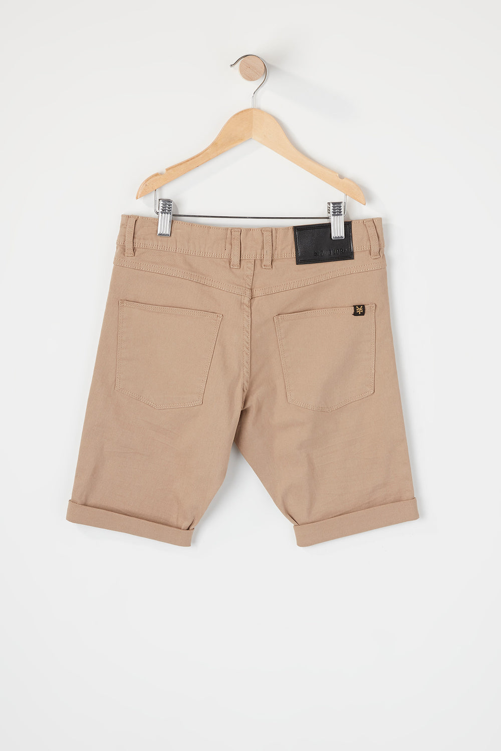 Zoo York Boys Solid Shorts Sand