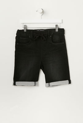 Short Jogger en Denim Ecoresponsable Zoo York Junior