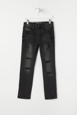 Zoo York Youth Distressed Skinny Jeans