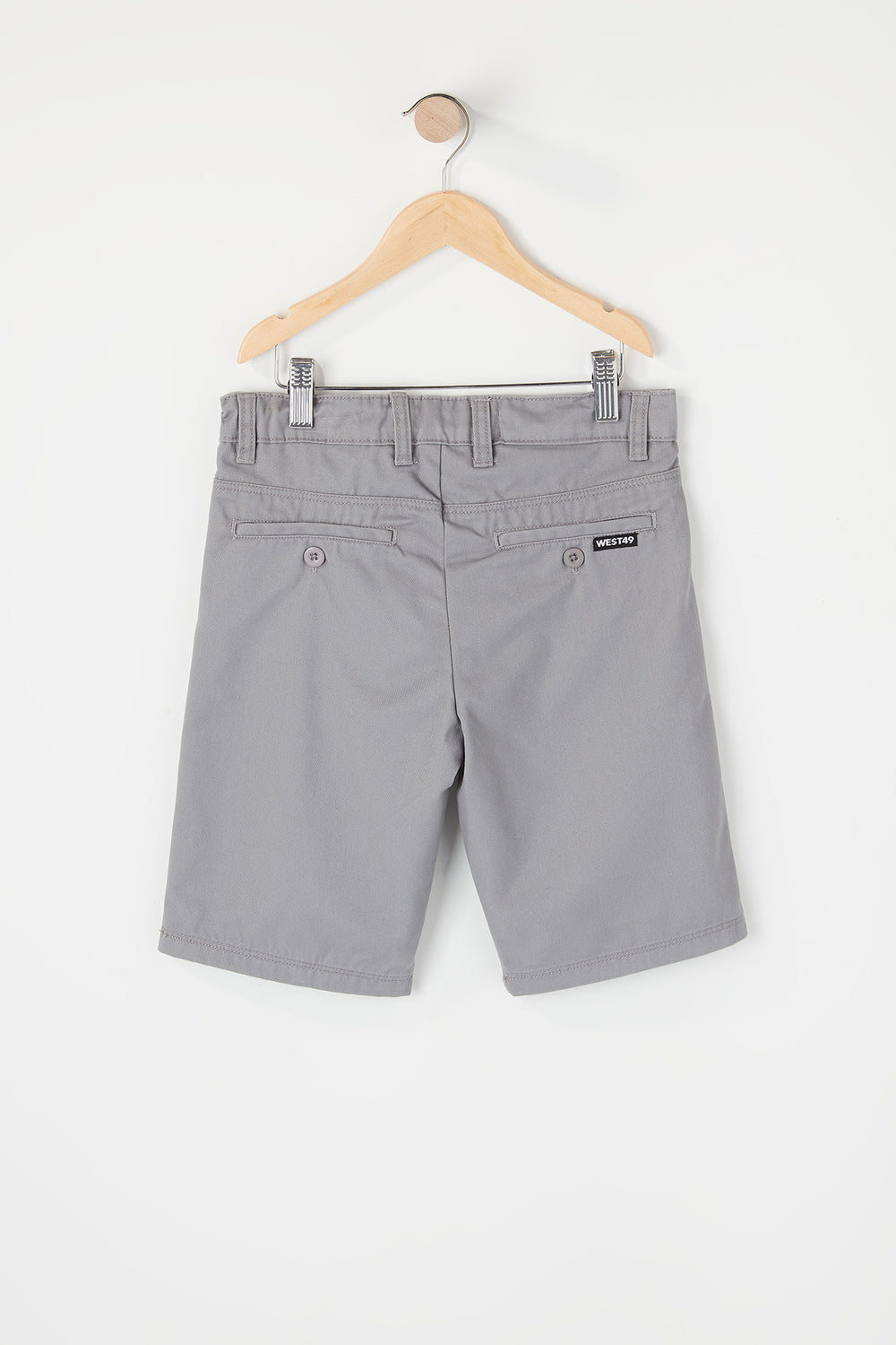 Short de Ville West49 Garçon Gris