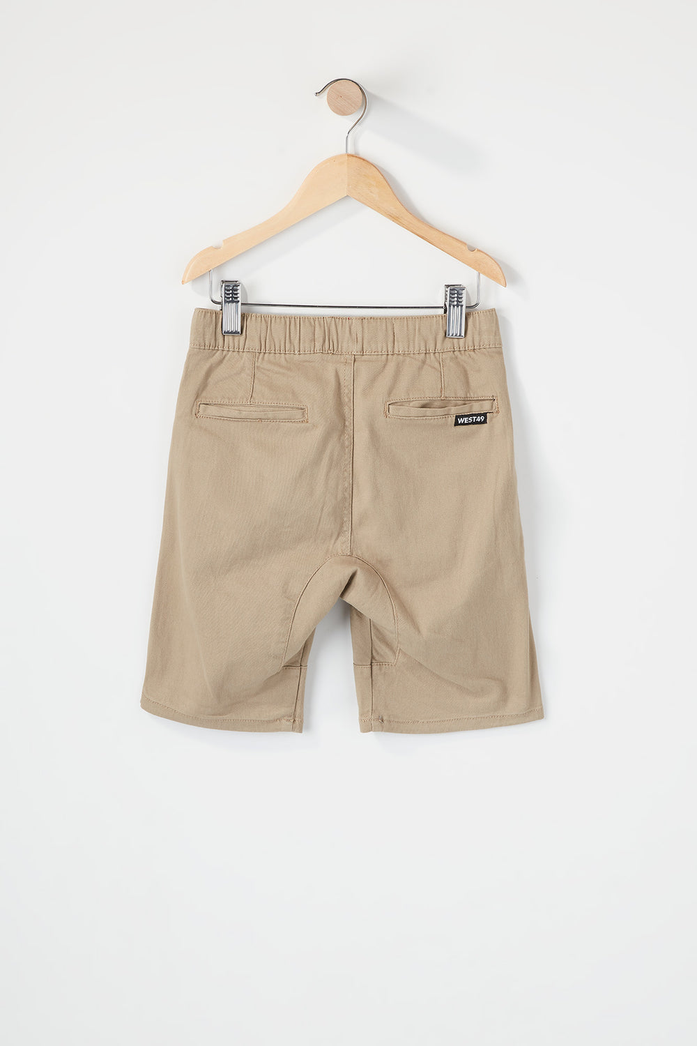 West49 Boys Jogger Short Sand