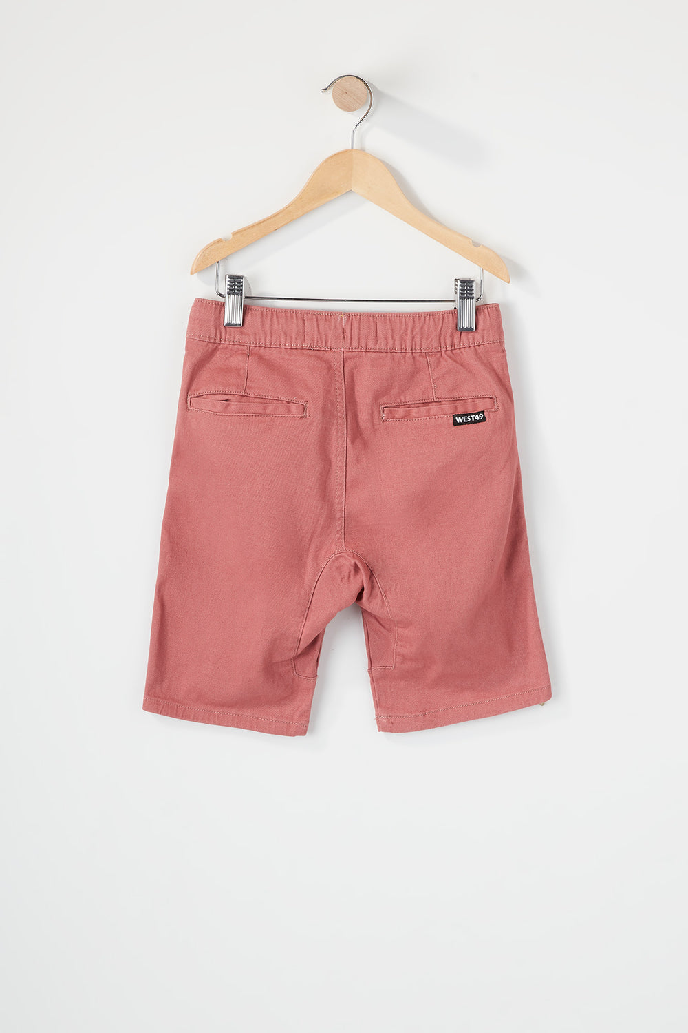 West49 Boys Jogger Short Dark Pink