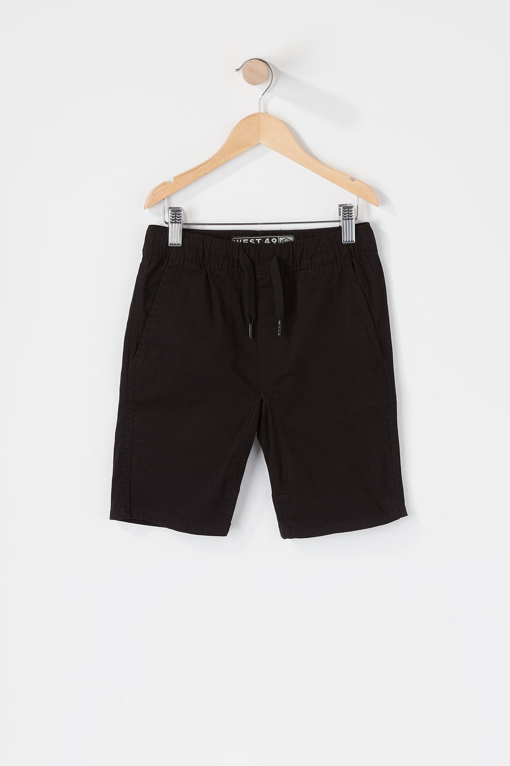 West49 Boys Jogger Short Black