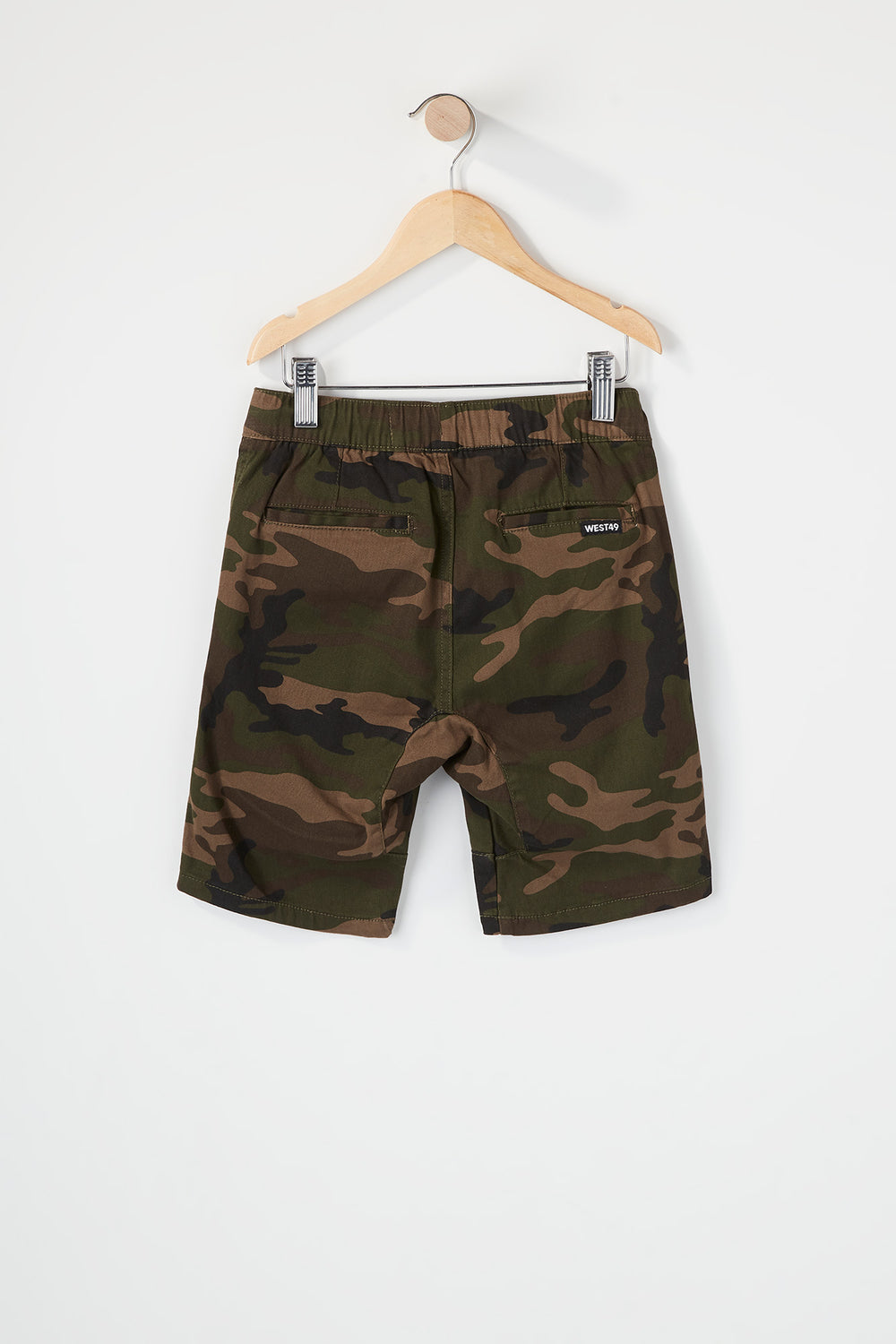 West49 Boys Camo Jogger Short Camouflage
