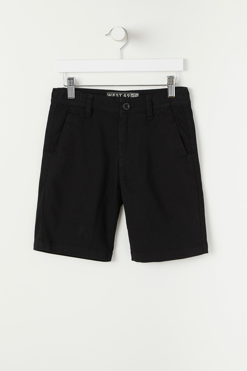 West49 Youth Twill Street Short Black