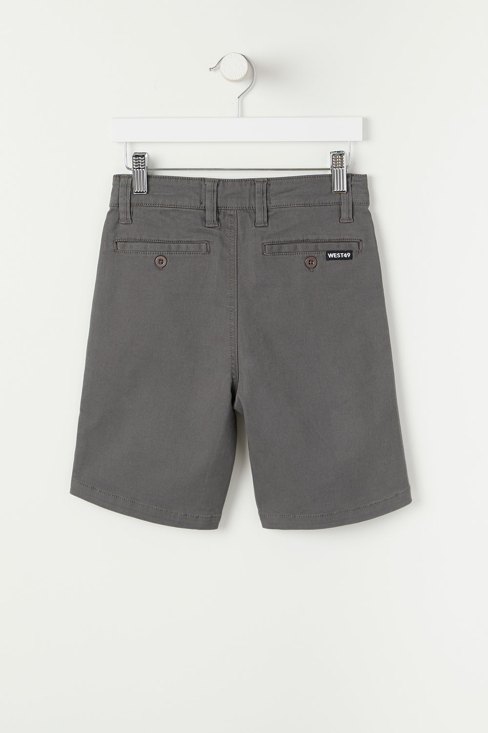 West49 Youth Twill Street Short Dark Grey