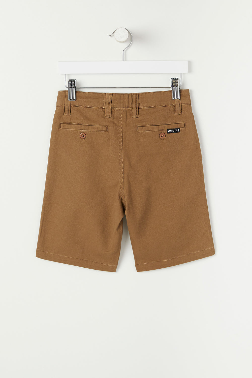 West49 Youth Twill Street Short Camel
