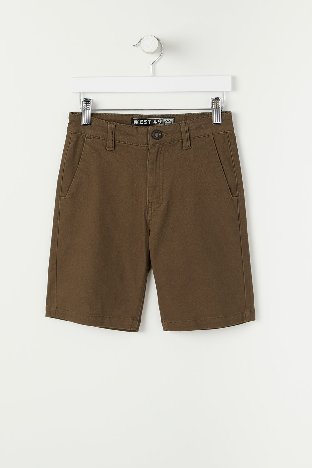 West49 Youth Twill Street Short Khaki
