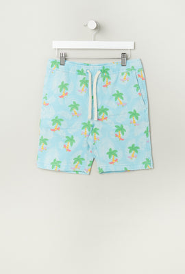 Zoo York Youth Animal Print Pull-On Short