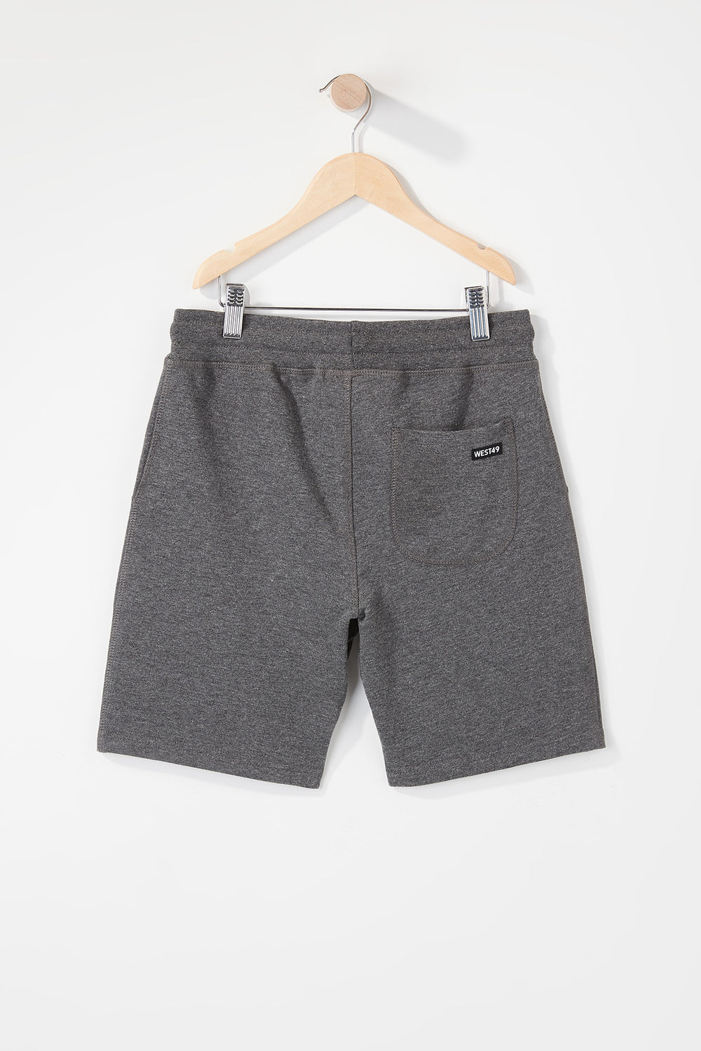 West49 Boys Basic Short Charcoal