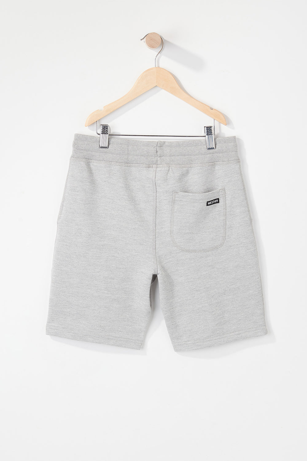 West49 Boys Basic Short Heather Grey