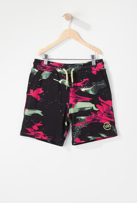 Young & Reckless Boys Electric Floral Short