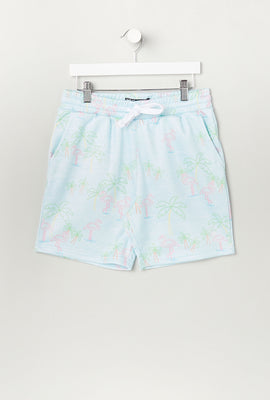 Zoo York Youth Flamingo Fleece Shorts