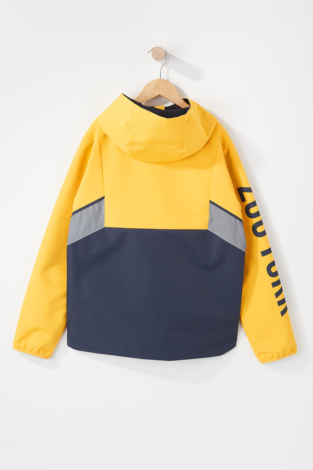 Zoo York Boys Colour Block Jacket Yellow