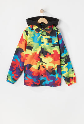 Veste Coach Camouflage Multicolore Zoo York Junior