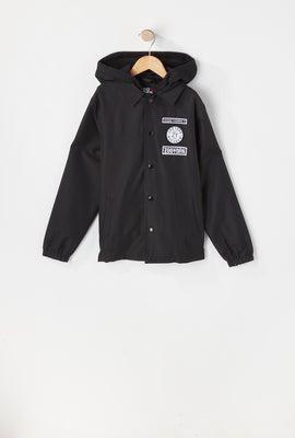 Zoo York Youth Patch Logo Coach Jacket