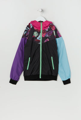 Young & Reckless Youth Colour Block Zip-Up Windbreaker