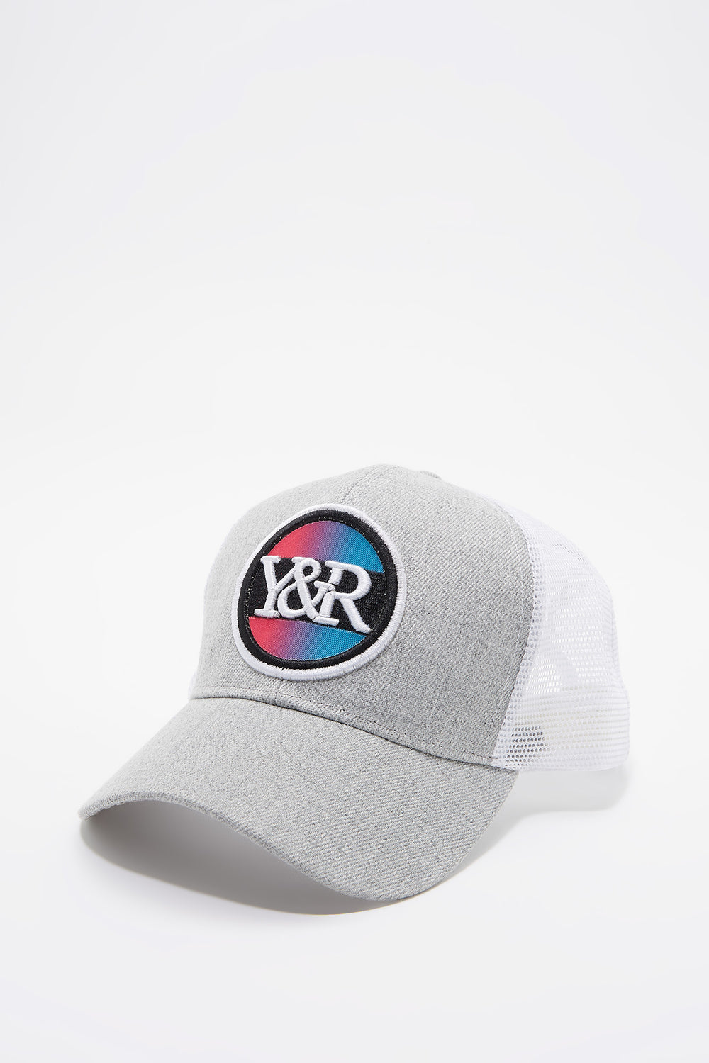 Young & Reckless Boys Gradient Logo Hat Heather Grey