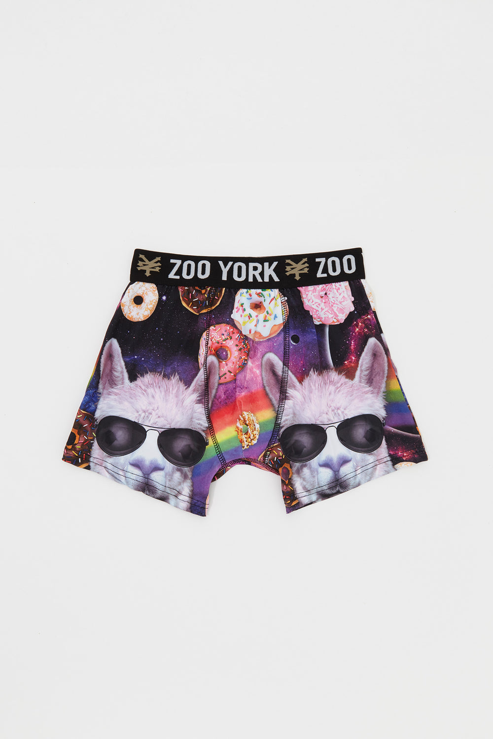 Zoo York Boys Llama and Donuts In Space Boxer Brief Purple