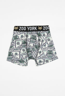 Boxer Billet de Dollar Zoo York Garçon