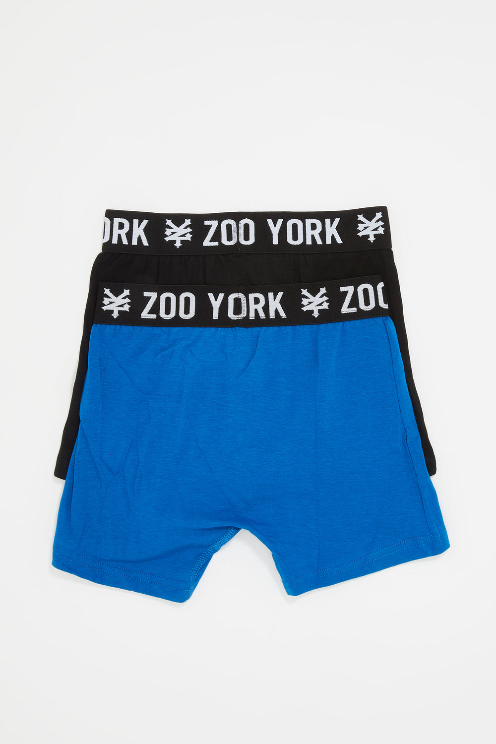 Zoo York Boys 2-Pack Cotton Boxer Briefs Blue