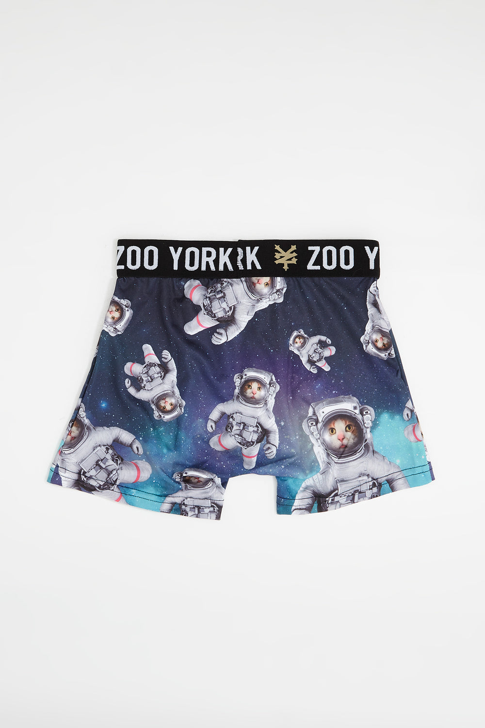 Zoo York Boys Cat In Space Boxer Brief Green