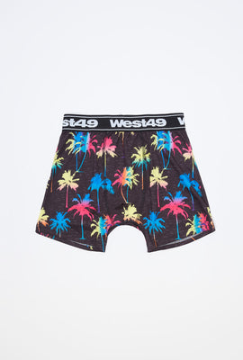 West49 Boys Neon Palm Trees Boxer Brief